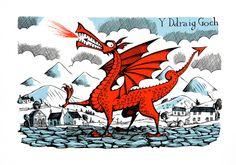 Red Dragon, Y Ddraig Goch – Paul Bommer