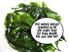 do you know the nutritional benefits seaweeds provide...