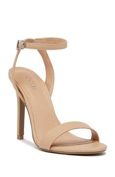 Image of Abound Baxter Ankle Strap Sandal - Wide Width Available Ankle Straps, Ankle Strap Sandals, Tan Sandals Heels, Snakeskin Heels, Flat Sandals, Gladiator Sandals, Pumps Heels, Stiletto Heels, Stilettos