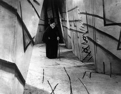 Still from The Cabinet of Dr. Caligari, 1920. Directed by Robert Wiene from a screenplay by Hans Janowitz and Carl Mayer. Courtesy of Kino International.