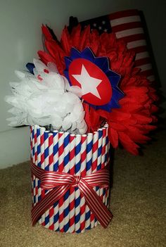 Patriotic Themed Centerpiece by Kreative Kinks