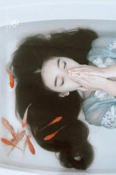 riri-neko: [魚-fish] by pearl808