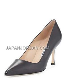 https://www.japanjordan.com/manolo-blahnik-bb-leather-midheel-pump-black.html オンライン MANOLO BLAHNIK BB LEATHER MID-HEEL PUMP 黑 Only ¥20,240 , Free Shipping!