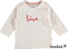 Babyface Longsleeve lichtroze - Meisjes Baby T-shirts lange mouw €15,95