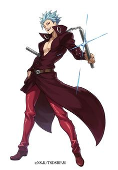 Seven Deadly Sins Anime, 7 Deadly Sins, Ban Anime, Super Anime, 7 Sins, Seven Deady Sins, Wallpaper Naruto Shippuden, Hot Anime Guys, Manga Comics