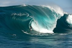 Mark Mathews, who took first place in the Biggest Wave category