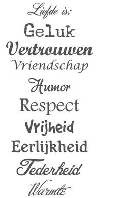 Trapsticker *Liefde is
