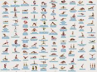 84 Classic Yoga Asanas Pdf Google Search Yoga Poses Names Yoga Asanas Names Yoga Poses Chart