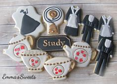 Downton Abbey Cookies by Emma's Sweets | Cookie Connection