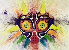 Majora's mask by Silgil