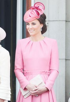 Kate Middleton and Princess Charlotte Were Twinning at Trooping the Color via @WhoWhatWear