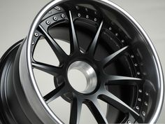 This Forgeline RB3C Concave center lock features a Satin Black center, Transparent Smoke outer (with this gorgeous deep lip), and the exposed hardware option. Learn more about the RB3C at: http://www.forgeline.com/products/concave-series/rb3c-concave.html