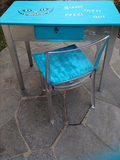 Alice in Wonderland desk and chair