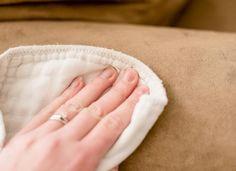 frotter tache sofa nettoyant diy