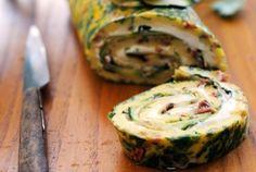 Rotolo di frittata farcito con formaggio e zucchine | Cambio cuoco