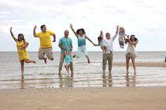 Beach family picture idea