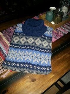 Homemade woolsweater, pattern by Rauma Homemade, Pattern, Fashion, Moda, Home Made, Fashion Styles, Patterns, Model, Fashion Illustrations