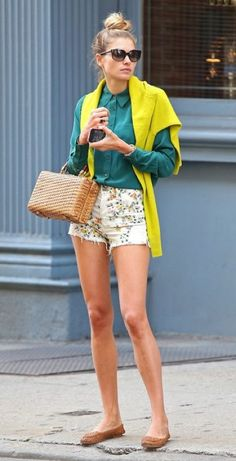 Incorporate hunter green into your look