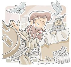 This free Bible lesson is based on John when Jesus cleared the temple of the merchants. It is designed for children's church or Sunday School. Please modify as best fits your ministry. Jesus Cleanses The Temple, Cleansing Of The Temple, Sunday School Projects, Sunday School Lessons, School Ideas, Teaching Plan, Teaching Schools, Teaching Ideas, Bible Lessons For Kids