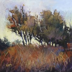 """Daily Paintworks - """"Yet Another Underpainting Experiment"""" - Original Fine Art for Sale - © Karen Margulis Pastel Landscape, Abstract Landscape Painting, Landscape Art, Landscape Paintings, Landscapes, Art Graf, Paintings I Love, Pastel Paintings, Horse Paintings"""