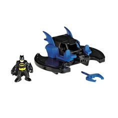 Kids hit the road to adventure with DC Super Friends and their vehicles! Gotham City is in danger-it's up to DC Super Friends to save the day! This time, Each super cool vehicle adds excitement to the chase! Whether it's a transforming cycle, police car with lights & sounds or a Batwing with pop-out wings, this Gotham City Collection is a whole new adventure every time kids play!