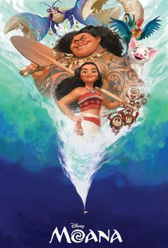 We have come here with an astonishing Moana Poster Collection that will rather compel you to watch the film if haven't until now! Moana Disney, Disney Pixar, Walt Disney, Princesa Disney Frozen, Deco Disney, Disney Animation, Disney And Dreamworks, Disney Love, Disney Magic