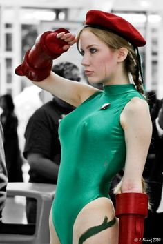 Cammy White from Street Fighter by Crystal Graziano @ facebook.com/crystalcosfx - More at https://pinterest.com/supergirlsart #crystalgraziano #hot #sexy #cosplay #girl #cosplaygirl #streetfighter #sf #cammywhite