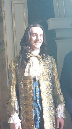The sun king Louis Xiv Versailles, Versailles Tv Series, Palace Of Versailles, George Blagden, Evan Williams, Les Miserables, Historical Costume, Music Tv, Marie Antoinette
