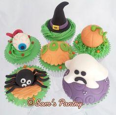 Halloween Cupcakes - CakesDecor