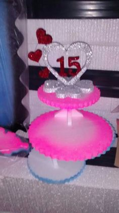 Sweet 15, Amelia, Centerpieces, Birthday Cake, Cupcakes, Party, Crafts, 15 Years, Cute Ideas