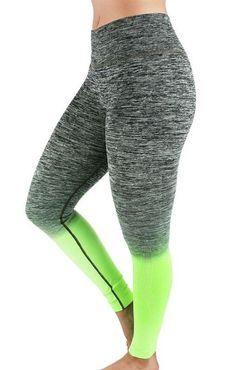 BJB Fit Pants- Neon Green