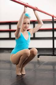 I haven't been able to find Chloe's exact leotard yet, but if I do I will pin it. I found two similar leotards. The first one is the Princess Seam Tank Leotard from Dance Wear Solutions. It's available in light blue and royal blue which is the closest to what Chloe's wearing. It's $17.50. The second leotard is the So Dansca Child Sweetheart Tank Leotard from Discount Dance Supply. ($19.18) It also comes in two different shades of blue similar to what Chloe has.