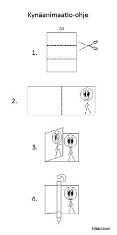 Kynäanimaatio: yksinkertainen ja helppo tapa havainnollistaa elävän kuvan synty. http://www.haaraamo.fi