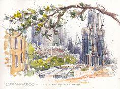 "Chris Haldane's ""Barangaroo development, Sydney, Nov 1 2014,"" posted November 9, 2014."