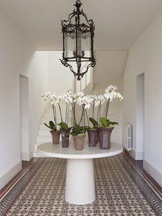 Bonsai pots. Norwegian designer Steinar Berg-Olsen and his partner Mark French country home.