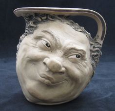 OnlineGalleries.com - Martin Brothers 2 Face Jug 1915