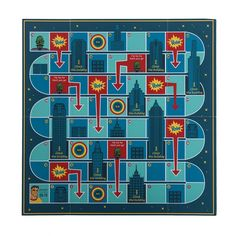 The amazing four sided flip and fold Superhero game board for your little ones!! #superhero #marvel #justiceleague #superman #boardgame #kidstoys #gifts #giftsonline #lbtcollective...