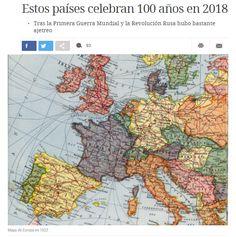 Estos países celebran 100 años en 2018 / @verne   #socialgeo