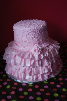 Cake Boss - This would be so cute for a little girls christening xx