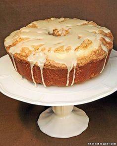 Pound Cake Recipes // Pound Cake with Maple Glaze Recipe