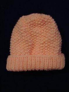 #Pink Baby #PoppySeed Hat by PirateKnitting on #Etsy, $7.00