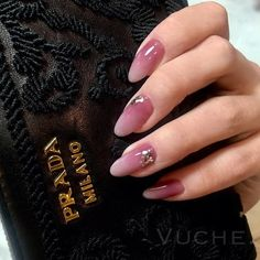 Magical 120 Nail Designs to Try This Spring Love Nails, Pink Nails, My Nails, Pretty Nail Designs, Nail Art Designs, Gel Nail Art, Nail Polish, Elegant Nail Art, Perfect Nails