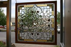 Custom Made Stained Glass And Beveled Glass Window