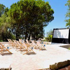 Watch a movie in the Vila Monte Farm House cinema.