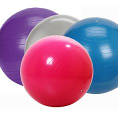 "anti-burst exercise-birthing ball – High Quality Anti Burst Exercise/Birthing Ball for both Men and Women  Using the highest quality material to produce an exercise ball that is safe and burst resistant up to 300Kg. Ribbed design for extra grip and stability. Supplied with a FREE circumference measure and plug remover, the measure simply wraps around the ball and when inflated to the correct height the tape tightens to guarantee size.  Sizes available to suit heights 5' 1"" to over 6' 0"""