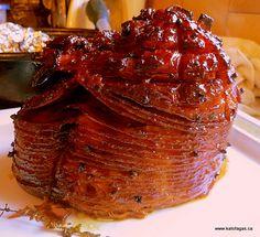 Coca Cola Ham Recipe - Kalofagas - Greek Food & Beyond 인터넷카지노▣▶ RELAX99. Recipes With Cooked Ham, Ham Recipes, Greek Recipes, Cooking Recipes, Copycat Recipes, Yummy Recipes, Yummy Food, Coca Cola Ham, Coke Ham