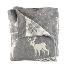 Love this Moose Throw Blanket from @TheLandOfNot adding this to Miles Storm's Christmas List too!