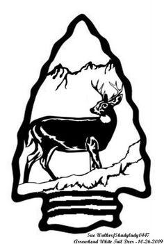 Arrowhead White Tail Deer - Animals - User Gallery - Scroll Saw Village