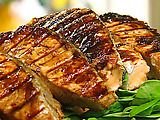 Grilled Salmon with Chinese Barbeque Sauce Recipe