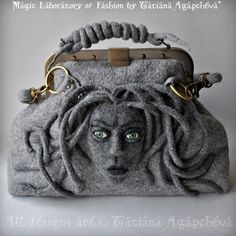ON SALe MEDUSA Bag  Gladstone Satchel Doctors Bag FREE by TianaCHE